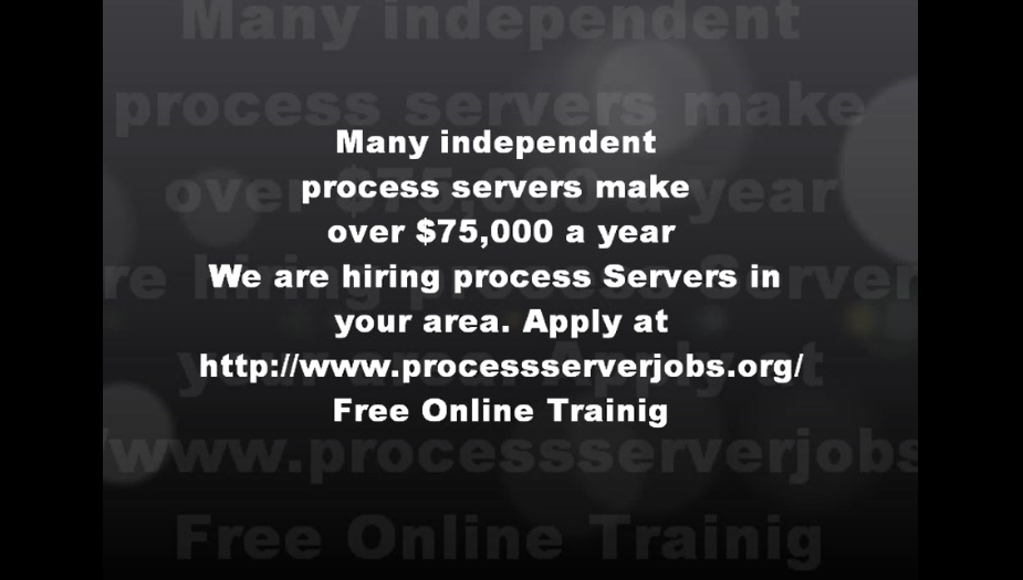 independent process server jobs